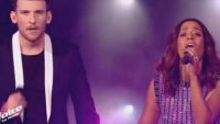 "Replay ""The Voice"" : Casanova & Amel Bent chantent « Que je t'aime » en finale (vidéo)"