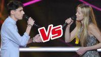 """Replay """"The Voice"""" : La Battle Louisa Rose / Thibaud « Est-ce que tu m'aimes ? » de Maître Gims (vidéo)"""