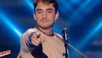 """Replay """"The Voice"""" : Jules Couturier chante « Digital Love » de Daft Punk (vidéo)"""