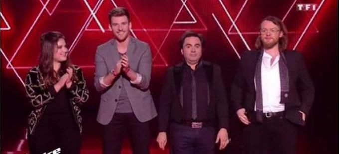 Replay The Voice direct 1 : Guillaume, Casanova, Frédéric Longbois et Sherley Paredes (vidéo)
