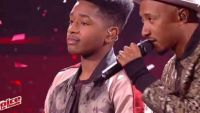 "Replay ""The Voice"" : Lisandro Cuxi & Soprano « Mon Everest » en finale (vidéo)"