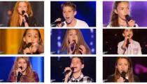 """Replay """"The Voice Kids"""" samedi 27 août : voici les 9 premiers talents sélectionnés (vidéo)"""