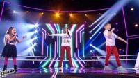 """Replay """"The Voice Kids"""" : battle Laure, Manuela, Steven « Papaoutai » de Stromae (vidéo)"""