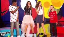 "Replay ""The Voice Kids"" : Jenifer, Lisandro, Justine, Lisandru chantent « Shake it off » (vidéo)"