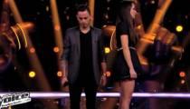 """Replay """"The Voice"""" : Noémie / Maximilien sur « Sorry Seems to be the Hardest Word » d'Elton John (vidéo)"""