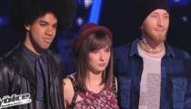 """Replay """"The Voice"""" : regardez l'épreuve ultime entre Pierre Edel / Natacha Andréani et Gwendal (vidéo)"""