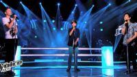 """Replay """"The Voice Kids"""" : battle Loris, Hugo, Paul sur « Paradise » de Coldplay (vidéo)"""