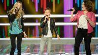 """Replay """"The Voice Kids"""" : battle Coline, Arthur et Julia sur « I Wanna Dance With Somebody » (vidéo)"""