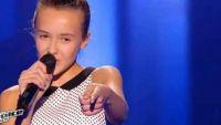 """Replay """"The Voice Kids"""" : Lauviah chante « Est-ce que tu m'aimes ? » de Maître Gims (vidéo)"""