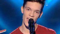 """Replay """"The Voice"""" : Fabian chante « Quand c'est » de Stromae (vidéo)"""