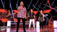 "Replay ""The Voice Kids"" : battle Océane, Nicolas, Charlie « I Want You Back » Jackson Five (vidéo)"