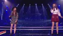 "Replay ""The Voice"" : Battle Claire Gautier / Lou Mai « Lost On You » de LP (vidéo)"