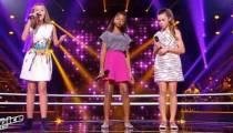 """Replay """"The Voice Kids"""" : battle Jeanne, Tamillia, Lauviah « Five Four Seconds » (vidéo)"""