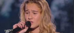 "Replay ""The Voice Kids"" : Lilou chante « Je m'en vais » de Vianney (vidéo)"