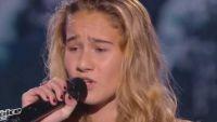 """Replay """"The Voice Kids"""" : Lilou chante « Je m'en vais » de Vianney (vidéo)"""