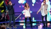 """""""The Voice Kids"""" : regardez les coachs chanter « Happy » sur l'ouverture de la ½ finale (vidéo)"""