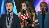 "Replay ""The Voice"" : l'épreuve ultime de Grannhild, Mirella et Gabriella (vidéo)"
