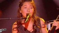 "Replay ""The Voice Kids"" : Leelou chante « Chandelier » de Sia en direct (vidéo)"