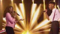 """Replay """"The Voice"""" : Battle Imane / Valentin F. « Come » de Jain (vidéo)"""
