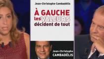 """""""On n'est pas couché"""" : échange tendu entre Léa Salamé et Jean-Christophe Cambadélis (vidéo)"""
