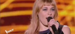 "Replay ""The Voice"" : Luna Gritt chante « Back to Black » d'Amy Winehouse (vidéo)"