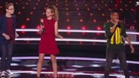 "Replay ""The Voice Kids"" : battle Maria / Théo / Kelvin sur « Say, Say, Say » de Paul McCartney (vidéo)"