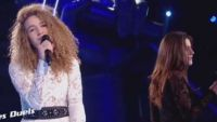 """Replay """"The Voice"""" : duel Ecco / Kelly « Jacques a dit » (vidéo)"""