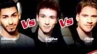 """Replay """"The Voice"""" : l'épreuve ultime de Dilomé, Sacha et Nico (vidéo)"""