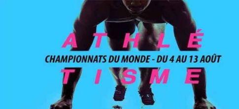 Audience : France 2 leader samedi soir avec les Championnats du monde d'athlétisme