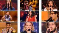 """Replay """"The Voice"""" samedi 18 février : voici les 9 talents sélectionnés (vidéo)"""