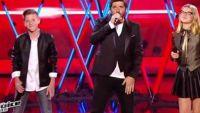 """Replay """"The Voice Kids"""" : Patrick Fiori, Agathe & Evän « Laissez-nous chanter » en finale (vidéo)"""
