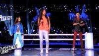 """Replay """"The Voice Kids"""" : battle Adrien, Melina, Victoria « Coups et blessures » BB Brunes (vidéo)"""
