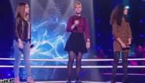 """Replay """"The Voice Kids"""" : battle Nawel / Océane / Amandine sur « L'encre de tes yeux » de Francis Cabrel (vidéo)"""
