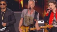 "Replay ""The Voice"" : Xam Hurricane, Sting & Shaggy chantent « Englishman in New-York » en finale (vidéo)"
