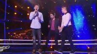 """Replay """"The Voice Kids"""" : battle Axel / Loïc / Antoine « Comme des enfants » de Coeur de Pirate (vidéo)"""