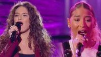 """Replay """"The Voice"""" : l'audition finale de Djeneva, Mennel et Tiphaine SG (vidéo)"""