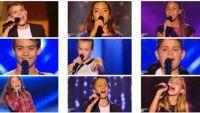 """Replay """"The Voice Kids"""" : voici les 9 talents sélectionnés samedi 10 septembre (vidéo)"""