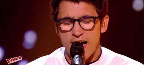 """Replay """"The Voice"""" : Vincent Vinel chante « Feel » de Robbie Williams (vidéo)"""