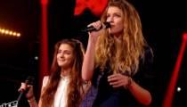 """Replay """"The Voice"""" : La Battle Manon Palmer / Devi sur « Saint Claude » de Christine & the Queens (vidéo)"""