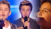 "Replay ""The Voice Kids"" : les prestations d'Esteban, Leny & Rodrigue (vidéo)"
