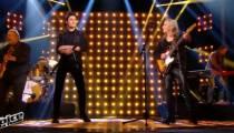 """Replay """"The Voice"""" : David Thibault &Véronique Sanson chantent « On m'attend là-bas » en finale (vidéo)"""