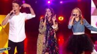 "Replay ""The Voice Kids"" : Jenifer, Lou & Achille « Bubble star »  de Laurent Voulzy (vidéo)"