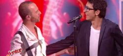 """Replay """"The Voice"""" : Vincent Vinel & Calogero « Je joue de la musique » en finale (vidéo)"""