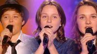 "Replay ""The Voice Kids"" : les prestations de Noa, Eva & Lily (vidéo)"