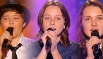 "Replay ""The Voice Kids"" : les prestations de Noa, Eva & Lily (vidéo)"
