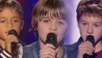 "Replay ""The Voice Kids"" : les prestations de Kamil, Thomas & Antoine (vidéo)"