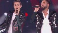 """Replay """"The Voice"""" : Raffi Arto & Kendji Girac chantent « Andalouse » en finale (vidéo)"""