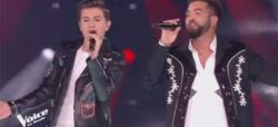 "Replay ""The Voice"" : Raffi Arto & Kendji Girac chantent « Andalouse » en finale (vidéo)"
