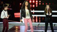 """Replay """"The Voice Kids"""" : battle Shaina, Joseph et Laura sur « You Can't Hurry Love » (vidéo)"""