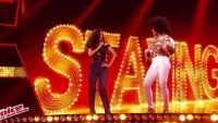 """Replay """"The Voice"""" : Shaby & Lucie chantent « Stayin' Alive » des Bee Gees (vidéo)"""